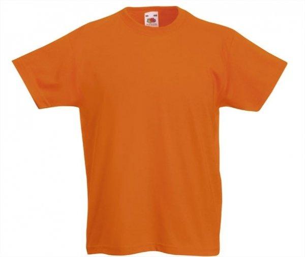Kids oranje shirt